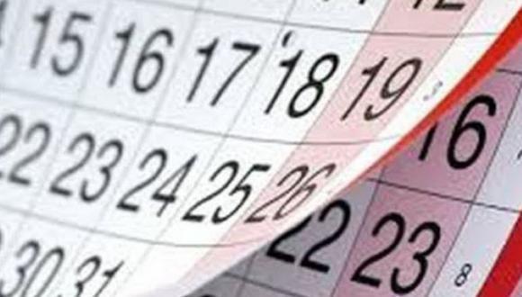 En lo que resta del año, todavía quedan tres feriados oficiales y  se han sumado cinco días que han sido decretados recientemente como no laborables para impulsar el turismo y la economía (Foto: Andina)