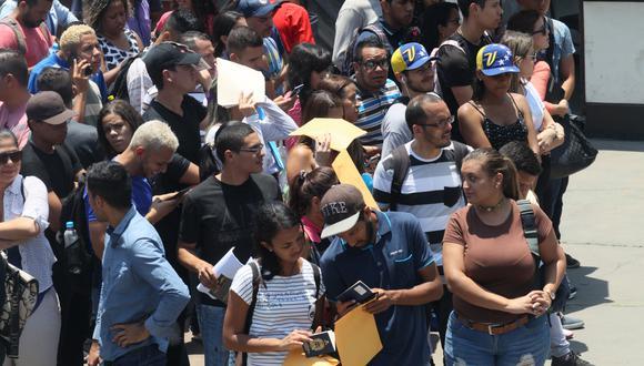 De acuerdo con las últimas cifras de Migraciones, han ingresado al país más de 800 mil ciudadanos venezolanos. (Foto: GEC)