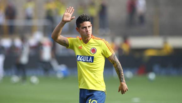 James Rodríguez promete dos goles en el partido entre Colombia y Uruguay por las Eliminatorias.