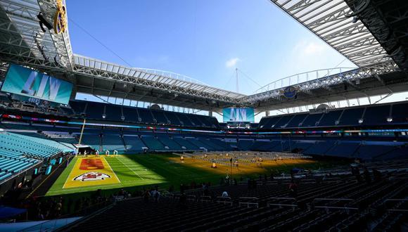 Super Bowl 2020 se disputará el domingo 02 de febrero desde el Hard Rock Stadium de Miami | Foto: Agencias