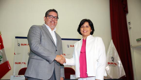 """""""Pondremos especial énfasis en contrarrestar la informalidad laboral, que afecta a cientos de miles de peruanos"""", expresó la ministra (Foto: MTPE)"""