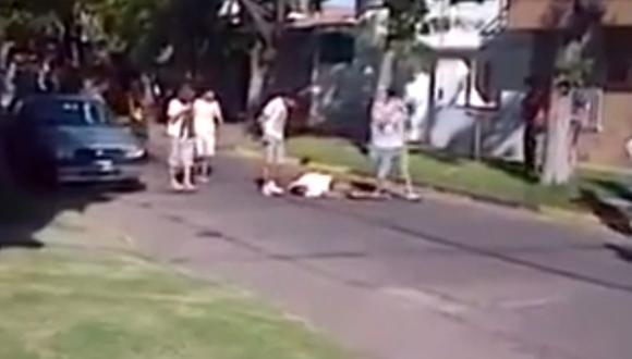Argentina: el brutal linchamiento de un ladrón en Rosario