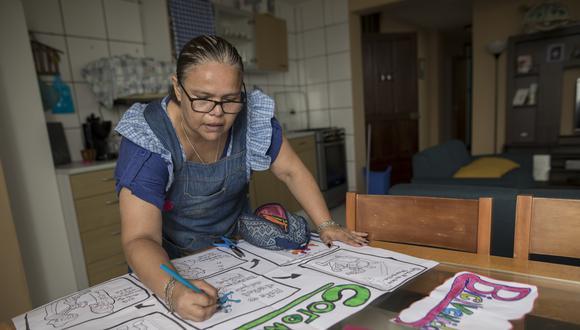 Las clases a distancia han logrado sacar lo mejor de los maestros peruanos.(Foto: Anthony Niño de Guzman / GEC)