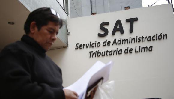 SAT devolvió más de S/.2 millones por fotopapeletas incorrectas