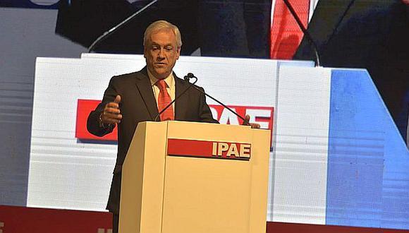 """Sebastían Piñera: """"Siento un nuevo clima de confianza en Perú"""""""