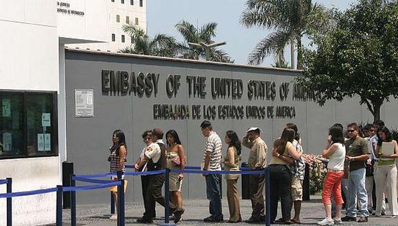 Embajada de Estados Unidos en Lima. (Foto: USI)