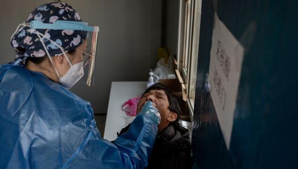 Coronavirus en China | Últimas noticias | Último minuto: reporte de infectados y muertos hoy, lunes 11 de enero del 2021 | Covid-19. (Foto: NICOLAS ASFOURI / AFP).