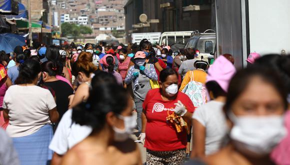 Aumentaron los contagios de coronavirus en el país. (Foto: Fernando Sangama)