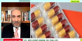 Salud: Dr Huerta advierte los peligros de automedicarse con antibióticos