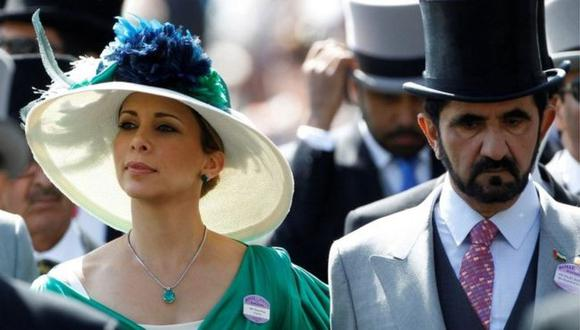La princesa Haya escapó a Reino Unido hace un año junto a sus dos hijos. (Foto: Reuters, vía BBC Mundo).