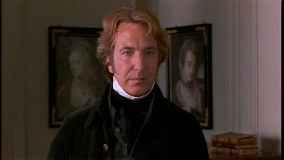 """Long before """"Love Actually""""In 1995, Alan Rickman had already acted with Emma Thopson in this film based on a novel by Jane Austen. Although in this he marries Kate Winslet. The film won a Golden Globe and a Golden Bear at the Berlinale. (Photo: Screenshot)"""