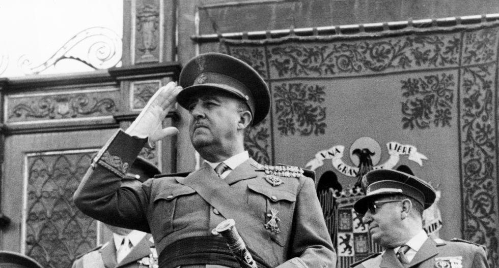 El general Francisco Franco gobernó España desde 1939 a 1975. Foto: Archivo de AFP