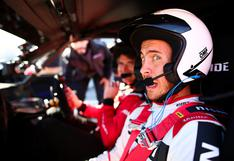 De la cancha al circuito: Eden Hazard se subió a un auto de carrera junto al piloto Oliver Rowland | FOTOS