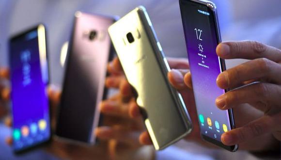Galaxy S8+ G9550 con Dual SIM, cuenta con un procesador Exynos 8895 y 4 GB de RAM. (Foto: AFP)