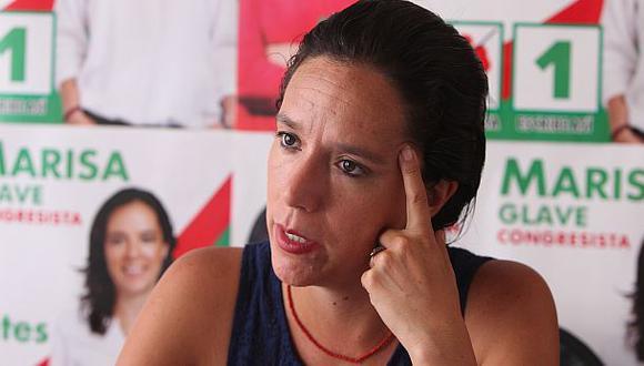 Remueven a Marisa Glave del comité permanente del Frente Amplio