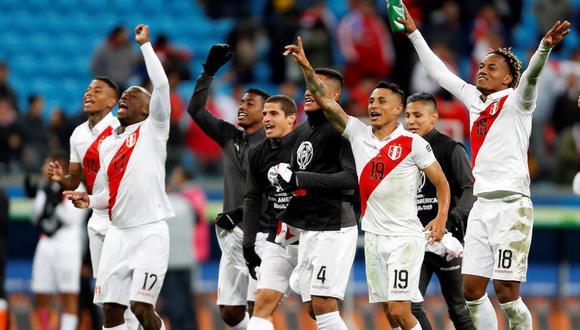 ¡Perú en la final! La selección de Ricardo Gareca eliminó a Chile en la semifinal por 3-0 y ahora buscará su revancha contra Brasil. (Foto: EFE)