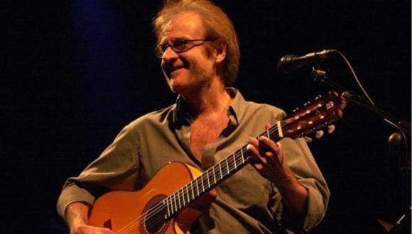 El cantautor y pintor Luis Eduardo Aute, de 76 años, falleció este sábado en Madrid. (Foto: EFE)