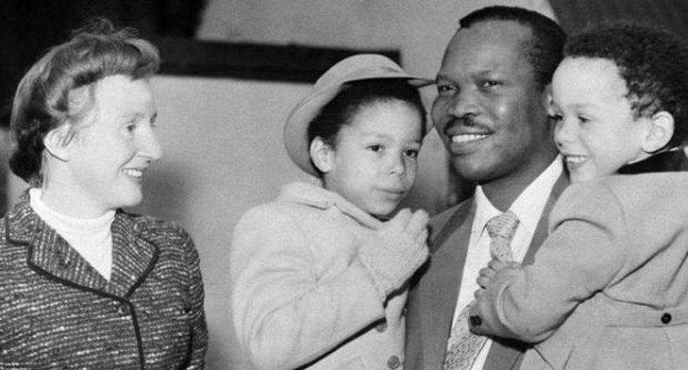 El príncipe africano que abdicó por amor a una mujer blanca