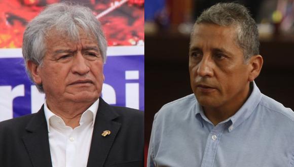 Virgilio Acuña y Antauro Humala fueron incluidos en la lista de UPP para las elecciones parlamentarias del 2020. (Fotos: GEC)