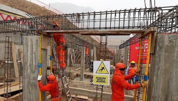 El sector construcción empieza a dar señales de mejora por la reanudación de obras privadas. (Foto: GEC)