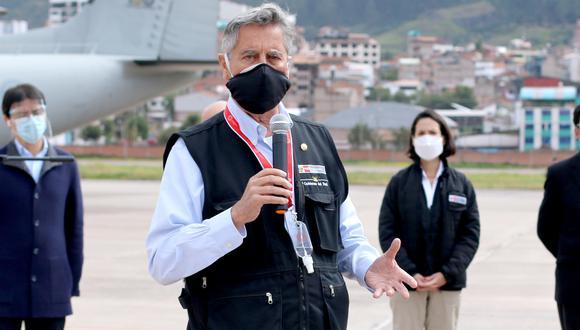 Francisco Sagasti se pronunció sobre el retiro de 4 UIT de las AFP. (Foto: Foto: Juan Sequeiros)