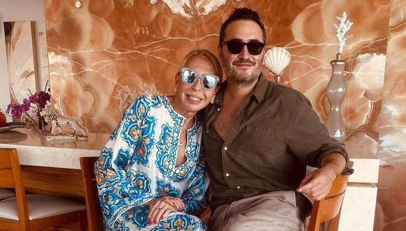 Laura Bozzo contó cómo pasó los primeros días del 2021 junto al cantante mexicano Jesús Navarro. (Foto: Instagram / @chuinavarro / @laurabozzo_of).