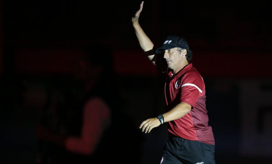 Universitario: Pedro Troglio dirigiría su último partido ante Sporting Cristal. (Foto: USI)