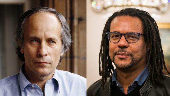 De izquierda a derecha, los escritores Richard Ford y Colson Whitehgead. (Fotos: Donald Maclellan para Getty Images/ Odd Andersen para AFP)