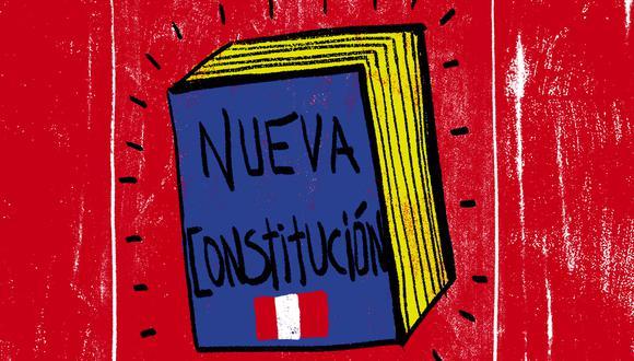 """""""Cuando se propone convocar a una asamblea constituyente no queda claro que esta vaya a tener la legitimidad para redactarla"""". (Ilustración: Giovanni Tazza)"""