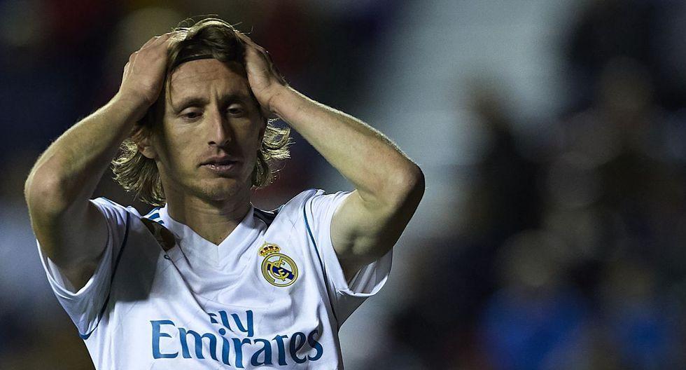 En el Real Madrid no fue bien visto que el Inter de Milán se haya contactado con Luka Modric mientras el croata mantiene contrato vigente con 'La Casa Blanca' (Foto: agencias)