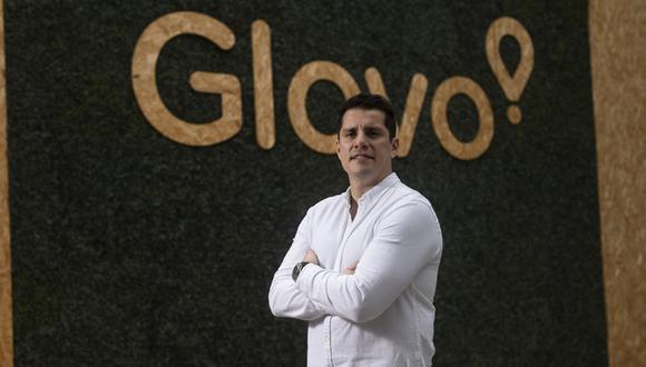 El 60% de las ventas de Glovo son por la vertical de restaurantes, pero  hubo un impulso de supermercados y farmacias por la pandemia. En el 2021, lanzarán entregas programadas, adelanta Alonso Nuñez, gerente general de Glovo Perú. (Foto: Leandro Britto/ GEC)