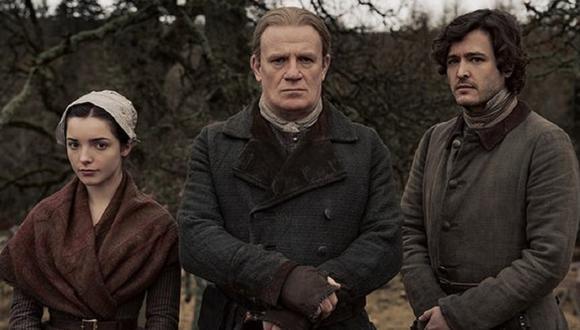 """Mark Lewis Jones, Alexander Vlahos y Jessica Reynolds interpretarán a la familia Christie en la sexta temporada de """"Outlander"""" (Foto: Starz)"""
