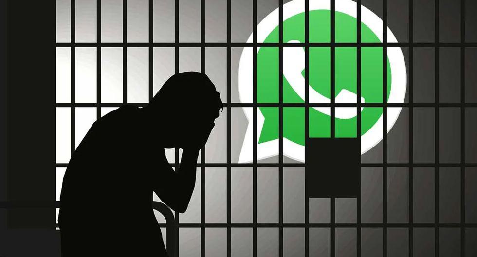 ¿Sabes cuántos años te correspondería de cárcel si difamas a alguien por WhatsApp? Atento a la siguiente cifra. (Foto: WhatsApp)