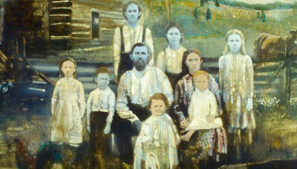 La familia Fugate y su particular historia de piel azul que impactó al mundo. (Foto: Captura/The Teal Mango)