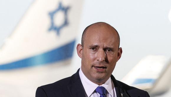 El primer ministro de Israel Naftali Bennett. (Foto: JACK GUEZ / AFP).