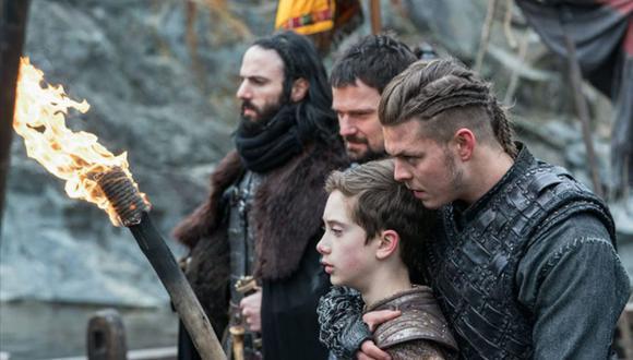 Ivar intenta recuperar a toda costa Kattegat (Foto: Vikings / History Channel)