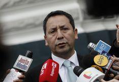 Clemente Flores: Mantilla quiere llevar al error a los que integramos la subcomisión