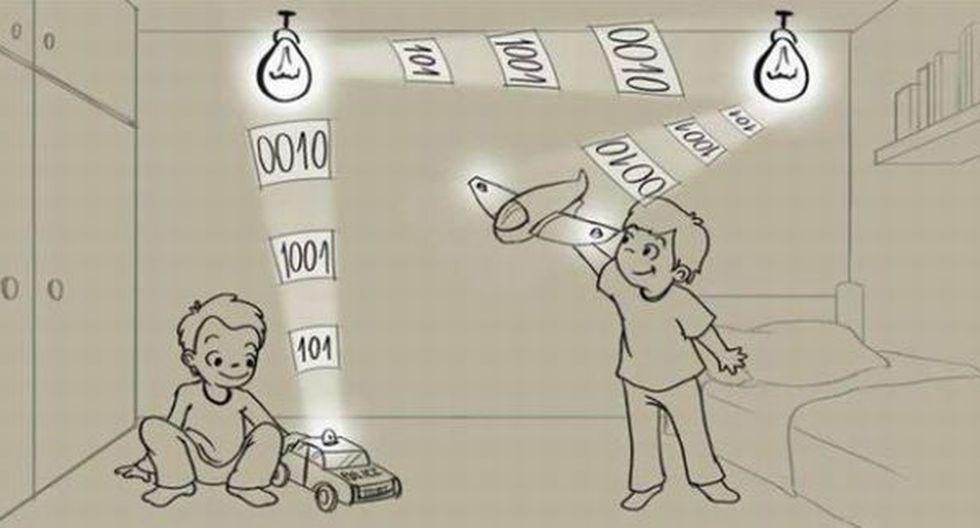 Crean luces LED que envían y reciben señales de Internet