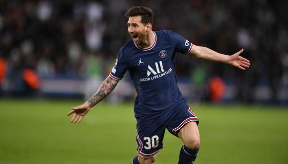 Messi anotó en el triunfo del PSG por 2-0 al Manchester City.