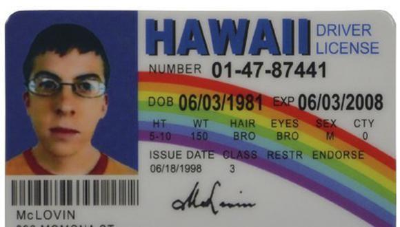 """El insólito caso del joven que fue detenido por llevar una identificación de """"McLovin"""". (Foto: Amazon)"""