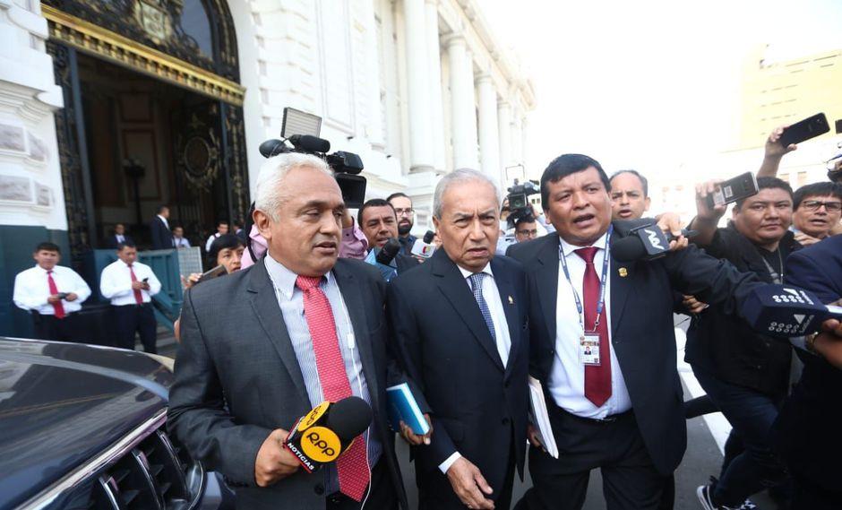 Pedro Chávarry, ex fiscal de la Nación, se retiró sin declarar ante la subcomisión del Congreso. (Foto: GEC)