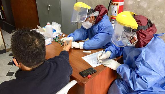El 30 % del personal de la fiscalía de Casma fue diagnosticado con la pandemia del nuevo coronavirus. (Foto: Hospital de Casma)