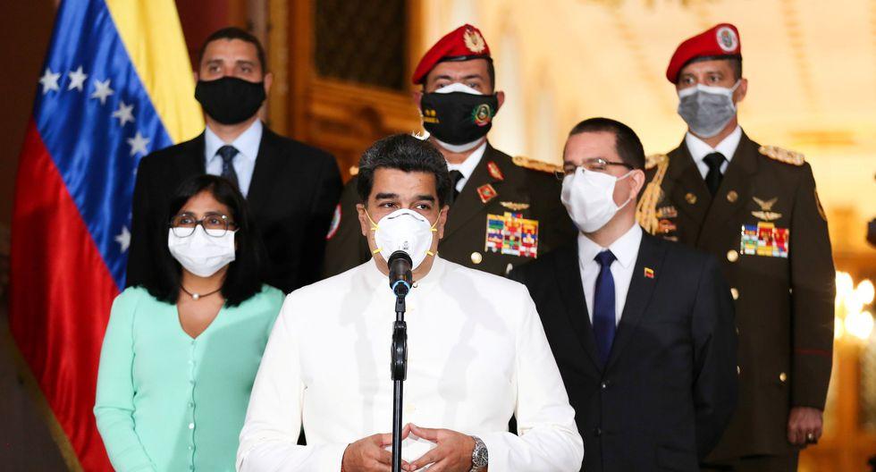 El presidente de Venezuela, Nicolás Maduro, llamó a las Fuerzas Armadas de Venezuela a estar listas para el combate. (Reuters).