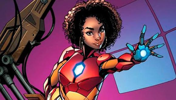 """La historia de Iron Heart pertenece al grupo de superhéroes jóvenes denominado """"Los Campeones"""", entre los que destacan Ms Marvel, Miles Morales (Spider-Man), Nova, Cyclops, y Viv Vision. (Foto: Difusión)"""