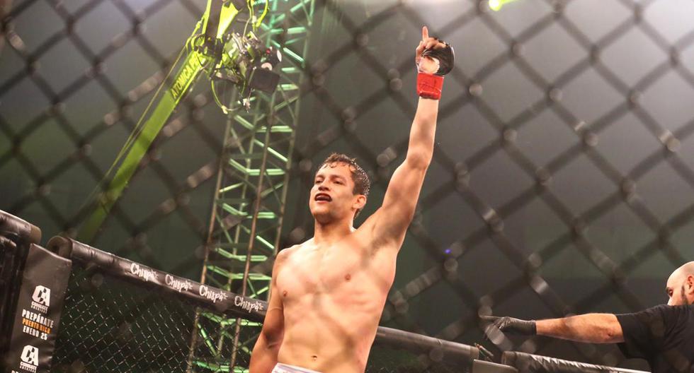 Bandenay será el próximo retador al título de peso ligero de Combate Américas. (Foto: Hugo Curotto/GEC)