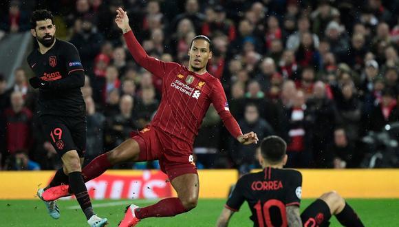 Virgil Van Dijk ha sido uno de los pilares del Liverpool en la temporada. (Foto: AFP)