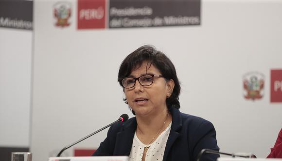 """""""Hemos optado por respetar los fueros del Congreso de la República, el guardar silencio también es una opción en esta relación que queremos que sea fluida, de consenso"""", señaló Cáceres. (Foto: GEC)"""