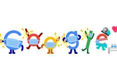 Google promueve la vacunación contra el COVID-19 en su último doodle animado