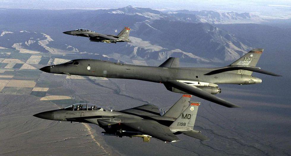 Los aviones nucleares de EE.UU. que asustan a Corea del Norte - 12