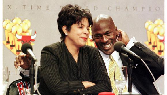 Juanita Vanoy vio de cerca cómo Michael Jordan se convertía en una leyenda del básquet. (Foto: AFP)
